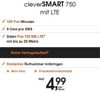 callMobile Telekom LTE Tarife ab 4,99€