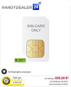 Handydealer24 Cashback Dealz bis zu 500€