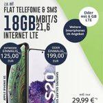 18GB Telekom LTE Allnet Flat ab 24,99€ mit Handy ab 4,95€ | Galaxy S10 für 29€, Apple Homepod für 4,95€, Bundle für 4,95€