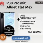20GB LTE otelo Allnet-Flat Max für 29,99€ / Monat mit iPhone SE (2020) ab 4,95€, OnePlus Nord für 9,95€, LG Velvet für 79€ | Vodafone LTE