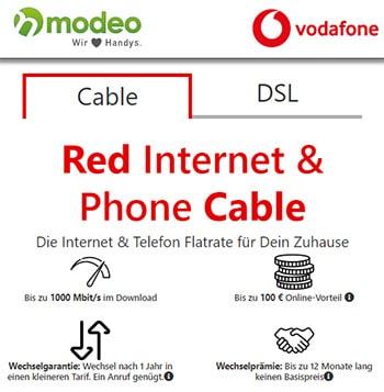 """Vodafone DSL / Kabel Tarife mit bis zu 210€ Bonus oder Hardware (Samsung 55"""" 4k TV, Apple HomePod, 2 x Sonos One)"""