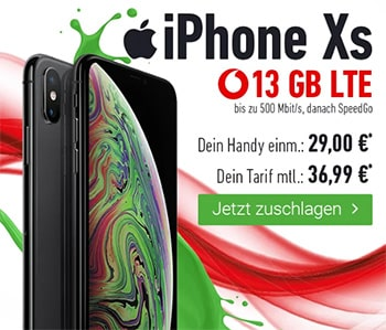 Vodafone Smart L Plus (bis zu 18GB) ab 36,99€ mit iPhone Xs ab 29€ | iPhone 11 ab 59,95€ | Galaxy S20 ab 119,95€ | Huawei P30 Pro + 50€ Amazon Gutschein