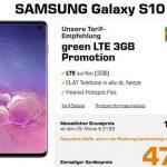 Galaxy S10 für 47€ mit MD Green Vodafone 3GB LTE Tarif für 17,99€