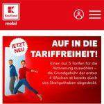 Kaufland Mobil - Telekom LTE Tarife ab 4,99€ | ohne Laufzeit