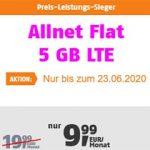 Klarmobil Allnet Flat Tarife ab 9,99€ / Monat   TOP-Tarif: 5GB Telekom LTE Flat für 9,99€
