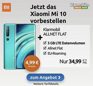 5GB Klarmobil Vodafone LTE Allnet ab 14,99€ mit Handy ab 4,95€ | TOP-Deal: Galaxy S20 für 4,99€ / iPhone 11 für 19€ / iPhone SE (2020) für 4,99€