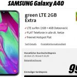 6GB MD Green Telekom LTE Tarif ab 11,99€ mit Handy ab 1€