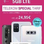 5GB Telekom Magenta Mobil Special M ab 24,95€ mit Xiaomi Mi 10T Pro 5G, Oppo Reno4 Pro 5G, Apple iPhone SE ab 4,95€