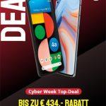 Blau Allnet XL (bis zu 7GB LTE) ab 14,99€ | TOP Deal: Google Pixel 4a für 4,95€, Oppo Reno4 5G für 4,95€