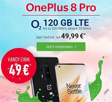 o2 Free L Boost (120GB LTE) mit Galaxy S20 ab 4,95€, iPhone 11 ab 4,95€