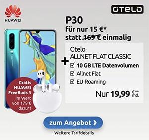 otelo Allnet-Flat Classic (10GB LTE) ab 19,99€ mit Galaxy A51, Xiaomi Mi Redmi Note 9s, Realme 5 Pro ab 4,95€