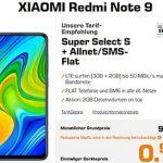 Saturn Super Select S 5GB LTE ab 9,99€ mit Galaxy A51 für 28,27€ | Xiaomi Redmi Note 9 für 0,97€