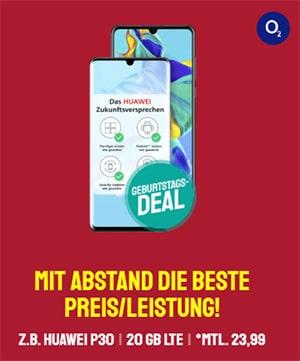 o2 Free M (20 GB LTE) ab 23,99€ mit Apple iPhone SE 2020 ab 4,95€, Huawei P30 Pro für 4,95€, Xiaomi Mi Note 10 ab 5€