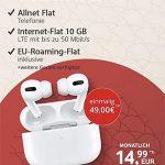 10GB MD Green Vodafone Allnet Flat LTE Tarif ab 14,99€ mit Handy ab 4,95€