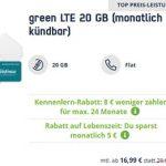 Mobilcom Debitel 20GB LTE o2 Allnet Flat für 16,99€ | ohne Laufzeit