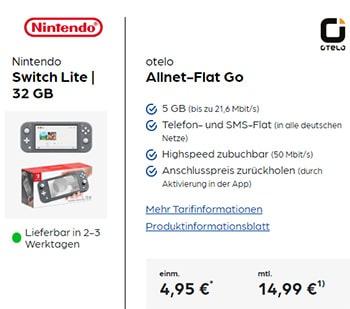 otelo Allnet Flat GO 5GB LTE für 14,99€ pro Monat mit Xiaomi Redmi Note 9 Pro für 29€   Apple AirPods Pro für 1€