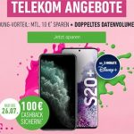 Telekom Magenta Mobil L (Young) ab 54,95€ mit Apple iPhone 11 (128GB) für 4,95€ | Galaxy S20 (Plus) ab 4,95€ | mit 100€ Cashback Aktion!