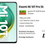 Xiaomi Mi 10T Pro 5G für 1€ mit MD Green Vodafone 3 GB LTE Tarif für 17,99€