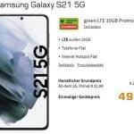 Samsung Galaxy S20 für 49€ mit 10 GB Vodafone Vertrag für 29,99€