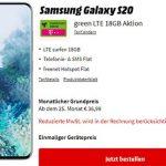 18GB Telekom LTE Allnet Flat ab 24,99€ mit Handy ab 4,95€ | Galaxy S20 für 49€