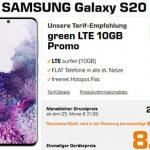 Samsung Galaxy S20 für 8,77€ mit 10 GB Vodafone Vertrag für 24,99€