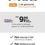 Klarmobil Allnet Flat Tarife | TOP-Tarif: 5 GB Telekom LTE Allnet Flat für 9,99€