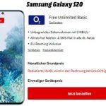 o2 Free Unlimited Basic (unbegrenztes Datenvolumen) ab 29,99€ mit iPhone SE ab 4,95€, Google Pixel 4a für 4,95€ uvm.