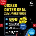 Congstar Allnet Flat M (8 GB) ab 20€ mit Apple iPhone SE für 59,95€, Google Pixel 4a für 1€, Xiaomi Mi 10 Lite für 4,95€ | Telekom LTE Netz