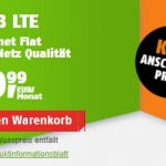 Klarmobil Allnet Flat Tarife   TOP-Tarif: 5 GB Telekom LTE Allnet Flat für 9,99€