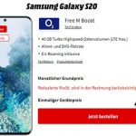 o2 Free M Boost (40 GB LTE) mit Apple iPhone SE, OnePlus Nord ab 4,95€ | Galaxy S20 FE, Google Pixel 5 ab 4,95€ uvm.