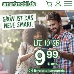 smartmobil LTE Tarife bis zu 10 GB LTE für 9,99€