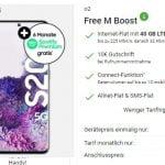 o2 Free M Boost (40 GB LTE) mit Apple iPhone SE, Galaxy S20 FE, Google Pixel 5 ab 4,95€