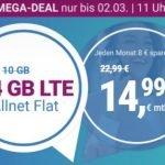 Simplytel 14 GB Flat für 14,99€