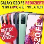 otelo Allnet-Flat Classic (10GB LTE) ab 19,99€ mit Galaxy S20 FE für 9€, Nintendo Switch + 30€ Amazon Gutschein für 29,95€, Google Pixel 4a für 49€, iPhone SE ab 69,95