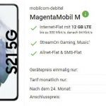 MD Telekom Magenta Mobil M (12GB LTE Flat) ab 54,95€ mit Smartphone ab 4,95€