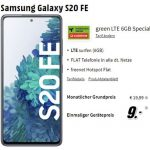 Galaxy S20 FE für 9€ mit MD Green Vodafone 6 GB Tarif für 19,99€