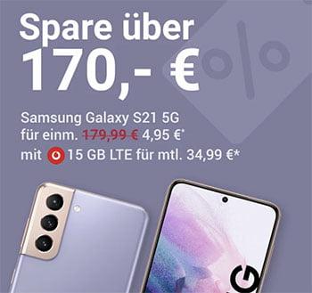 Vodafone Smart L Plus (bis zu 20GB) ab 34,99€ mit iPhone 12 (mini) ab 25€ | Galaxy S20 5G + 50€ Amazon Gutschein ab 4,99€ | Galaxy S21 ab 4,95€