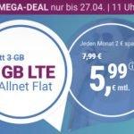 Simplytel 4 GB Flat für 5,99€