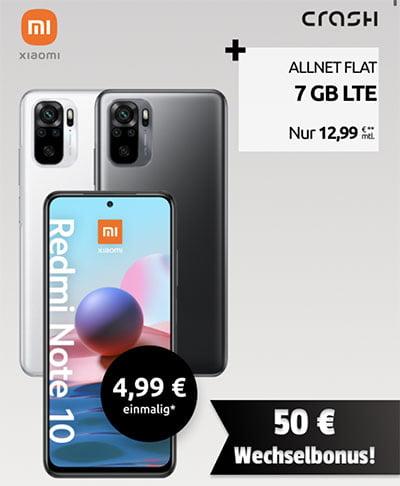 7 GB Crash Klarmobil Vodafone LTE Allnet ab 12,99€ mit Smartphone ab 4,99€