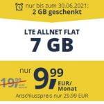 Freenet Mobile Vodafone LTE Allnet Flat Tarife   TOP-Deal: 7 GB für 9,99€ / 15 GB für 16,99€   monatlich kündbar