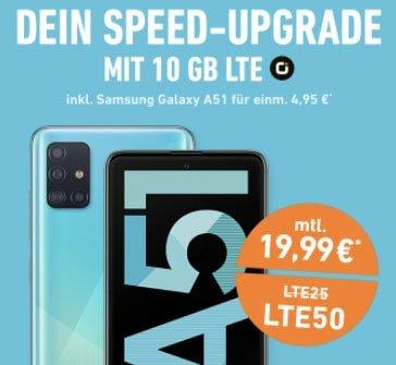 otelo Allnet-Flat Classic (10GB LTE) ab 19,99€ mit Xiaomi Mi 10T Lite für 49€, Galaxy A52 für 29€, Nintendo Switch für 3,99€