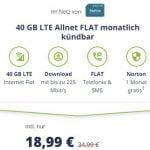 Mobilcom Debitel 40 GB LTE o2 Allnet Flat Tarif für 18,99€ | ohne Laufzeit