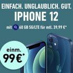o2 Free L (60GB LTE) ab 39,99€ mit Galaxy S21, Google Pixel 5, iPhone 12 mini ab 4,95€