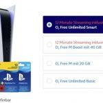 Sony Playstation 5 ab 1€ bei o2 mit Vertrag