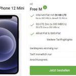 o2 Free M (20 GB LTE) ab 29,99€ mit iPhone 12 mini ab 49€ | Galaxy S21 FE ab 99€