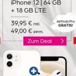 Telekom Magenta Mobil M (Young) Tarife (bis zu 24 GB Flat) mit iPhone 12 (mini), Google Pixel 5, Galaxy S21 ab 4,95€
