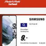 o2 Free M (20 GB LTE) für 29,99€ mit iPhone 12 mini ab 99€ | Galaxy S21+ für 9€