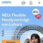 Lebara - Telekom LTE PrePaid Tarife | ohne Laufzeit