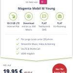 MD Telekom Magenta Mobil M Young für 19,95€ mit 21 GB LTE